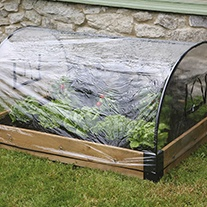 Raised Bed Polythene Cover