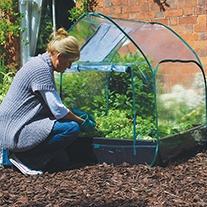 Raised Bed Pop Up Cloche Cover