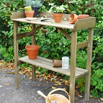 Potting Wooden Garden Table
