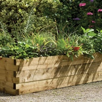 Caledonian Wooden Raised Bed