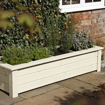 Wooden Garden Planter - Bamburgh
