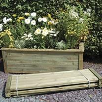 Wooden Garden Planter Kit - Bamburgh