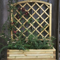 Wooden Garden Planter -Toulouse