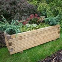Wooden Garden Planter - Agen
