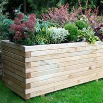 Wooden Garden Planter- Lomello