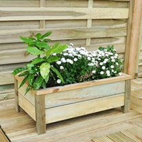 Rectangular Garden Wooden Planter
