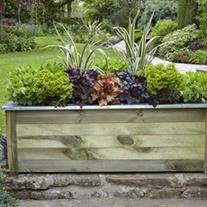 Wooden Garden Planter - Cambridge