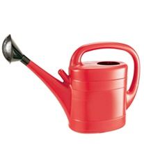 Plastic Watering Can 10ltr Red