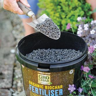 GroChar Carbon Gold Soil Fertiliser 2.5kg bucket