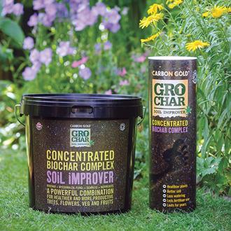 GroChar Carbon Gold Soil Improver 4.5kg bucket