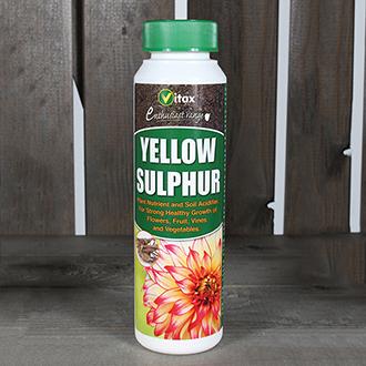 Yellow Sulphur Soil Fertiliser