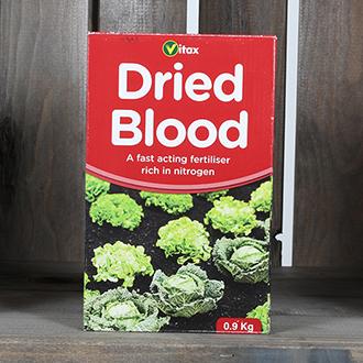 Dried Blood Nitrogen Fertiliser 0.9kg