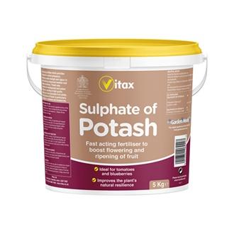 Sulphate of Potash Fertiliser 5kg