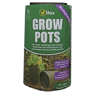 Grow Pots (9cm, round)