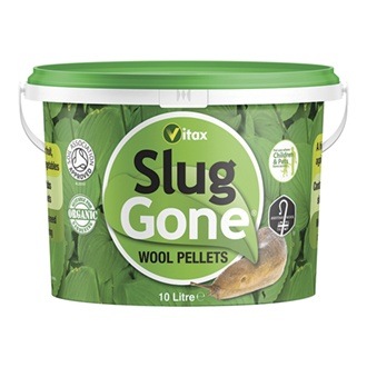 Slug Gone Natural Wool Barrier Pellets 10ltrs