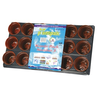 Growing Tray Kombi Pack 18 pots