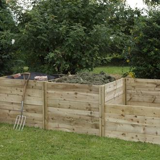 Slot Down Compost Bin Extension Kit