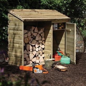 Log & Tool Garden Store