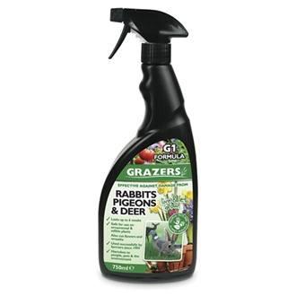 Grazers Rabbits, Pigeons & Deer Deterrent Spray