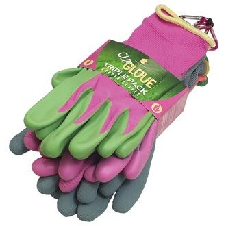 Triple Pack Gloves (Female Small)