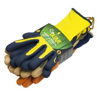 Triple Pack Gloves (Male Medium)