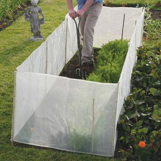 Micromesh Pest and Wind Barrier