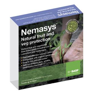 Nemasys® Biological Fruit and Veg Protection 60m²
