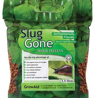 Slug Gone Natural Wool Barrier Pellets 3.5ltr