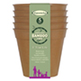 6in Bio-degradable Bamboo Pot