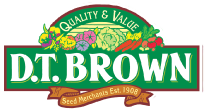 D.T. Brown - Quality & Value - Seed Merchants Est. 1908