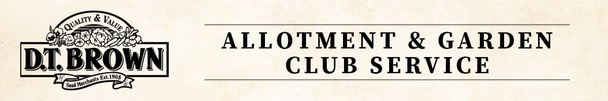 D T Brown Garden Club and Allotment Discount Scheme