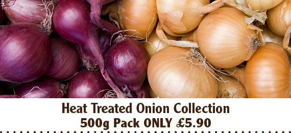 Heat Treated Onion Collection