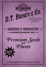 D T Brown Seed Catalogue