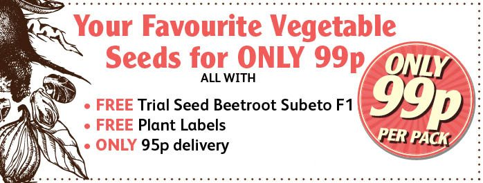 99p Vegeatble Seeds