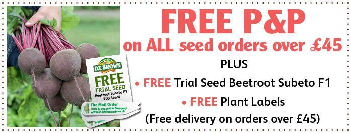 Free Vegetable Seed