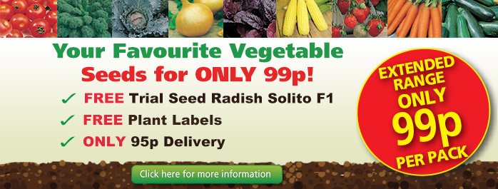 99p Vegetable Seeds