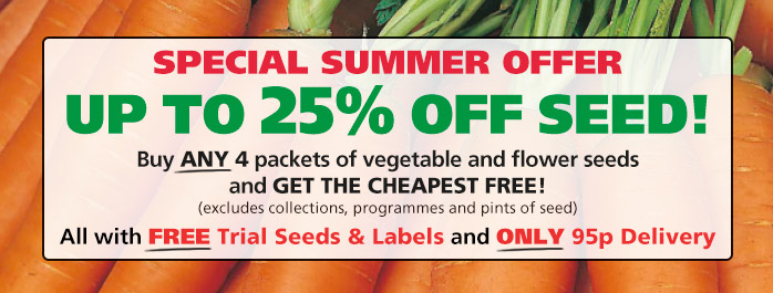 Up To 25% Off Seed!